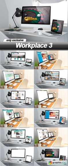 Workplace 3  12 UHQ JPEG  stock images
