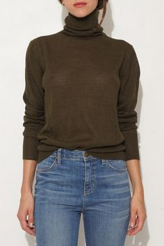 Olive Turtleneck by Rachel Comey | shopheist.com