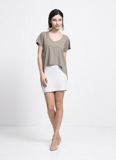 au lait | the tee dress