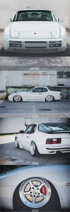 Porsche 944 low
