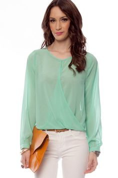 Let's Do the Twist Blouse  Was $38 Now $26