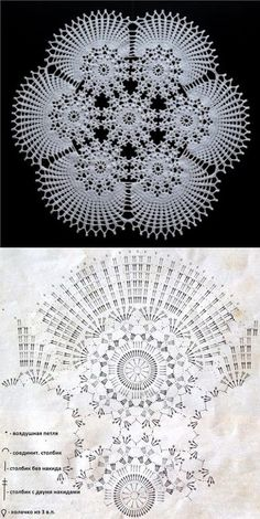 Beautiful Crochet Doily♥ Deniz Beautiful Crochet Doily♥ Deniz Learn the basics of how to crocheting, Free Crochet Doily Patterns, Crochet Doily Rug, Crochet Doily Diagram, Crochet Dollies, Crochet Circles, Crochet Motifs, Crochet Tablecloth, Crochet Chart, Crochet Home