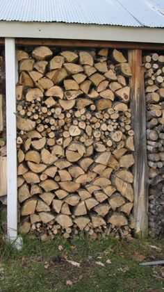 roofs for wood piles - Google Search