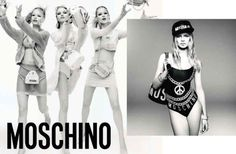 The missing leg. Photo: Steven Meisel/Moschino