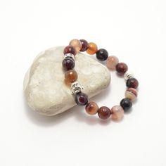 Brown agate Buddha bracelet, stone bracelet, Buddha bracelet, agate bracelet…
