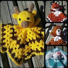 Lovey! lovey! Animals galore #lovey#amigurumi#baby#gift#toy#cute#toy#fox#hound#dog#bunny#rabbit#giraffe#bunnies#blanket#kids