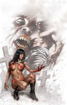 Vampirella 5 Comic Art