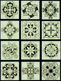 janome Machine Embroidery Designs | Exotic Floral Cutwork Collection#2