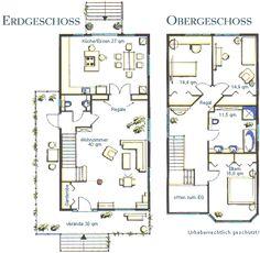 Grundriss einfamilienhaus modern gerade treppe  modernes Fertighaus - modulares System - HUF Haus modum: - HUF ...
