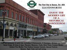 Downtown Leavenworth, Kansas