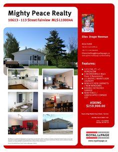 10613 113 Street, Fairview  MLS L100044