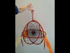 3D Dreamcatcher Interlocking Webs Tutorial - YouTube