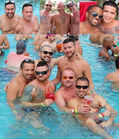 Gay Days hosted a Wet Bears Saturday Afternoon Pool Party at The Doubletree by Hilton in Orlando, FL. This party was held in the Sea World Lakes Pool and featured the DJ Edil Hernandez with lots of beefy men both in and around the pool.  http://www.jumponmarkslist.com/us/fl/ord/images/mp/gay_days/double_tree_hilton/1/2013/060113_1.php