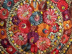 Hungarian Embroidery Patterns From the Golden Arches to the Golden Age – Hungary Hungarian Embroidery, Folk Embroidery, Beaded Embroidery, Embroidery Patterns, Quilt Modernen, Textile Fiber Art, Textiles, Passementerie, Fabric Art