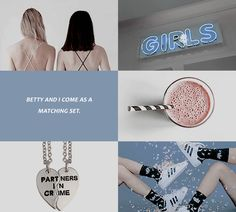 """But one thing was certain, Betty and Veronica, now B & V, and maybe forever, had been forged.""✪◍ TV show Riverdale ✪◍"