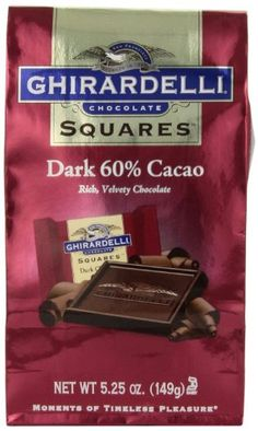 Ghirardelli Chocolate Squares Dark Chocolate 525 oz Pack of 6 * Read more reviews of the product by visiting the link on the image.