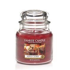 Apple Cider : Medium Jar Candle : Yankee Candle