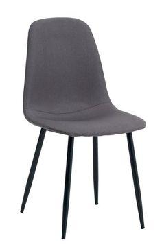 Ruokapöydän tuoli JONSTRUP harmaa/musta | JYSK