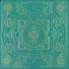 Emerald Temple Mandala