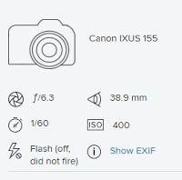 Satu Ylävaara Portfolio : Canon IXUS 155