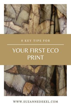 8 Key Tips for your First Eco Print. Fabric Dyeing Techniques, Art Techniques, How To Dye Fabric, Fabric Art, Dyeing Fabric, Fabric Design, Shibori, Natural Dye Fabric, Natural Dyeing