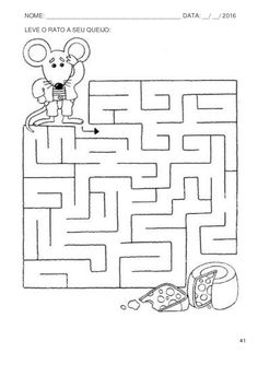 1 million+ Stunning Free Images to Use Anywhere Maze Worksheet, Kindergarten Worksheets, Worksheets For Kids, Preschool Writing, Preschool Activities, Mazes For Kids Printable, Visual Perception Activities, Working With Children, Kids Education