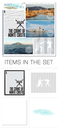 """""""CLASSICS; The Count of Monte Cristo; Challenge 9.5"""" by ealkhaldi ❤ liked on Polyvore featuring art"""