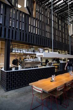 melbourne cafes photo blog: Industry Beans Warehouse 3, Cnr Rose & Fitzroy Streets Fitzroy 3065