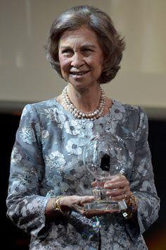 La reina Sofía en Alemania para recibir el premio Steiger - 3/10/2014