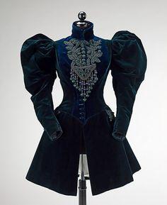 Afternoon Jacket 1895 The Metropolitan Museum of Art