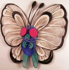 Paper Quilling Butterfree by wholedwarf on DeviantArt