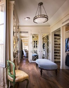 Sunset Estate dressing room by Michael S Smith Inc