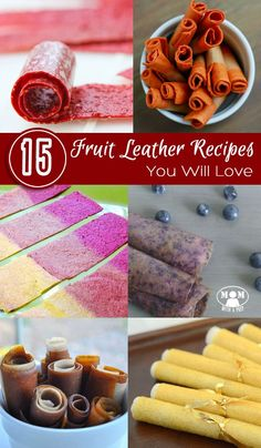 15 Fruit Leather Rec