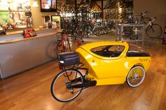 Velomobile, or covered bicylce, is something I must own one day