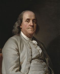 Benjamin Franklin by Joseph Siffred Duplessis, c. 1785, National Portrait Gallery