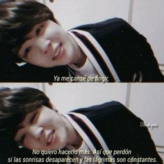 from the story Frases tristes y Secretos. ARMY y BTS by (Rocío Alejandra) with 226 reads. Sad Love, I Love Bts, Bts Cry, Bts Name, Korean Phrases, V Taehyung, Jimin Jungkook, Bts Quotes, Bts Chibi