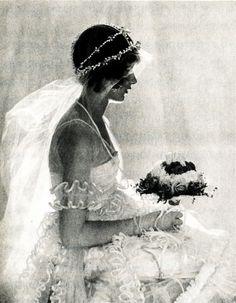 Baron de Meyer ~ Portrait of Natica Nast (Condé Nast's daughter) 1920