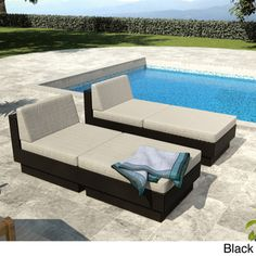 Sonax Park Terrace 4-piece Lounger Patio Set $1400