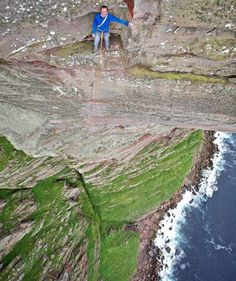 If this were me you would see the tiny trail of pee trickling down the rocks.