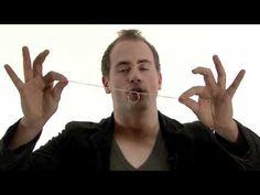 goocheltruc met een ring (goochelen) - Leuke trucs deel 10 met Robin Matrix