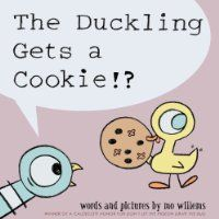 Pigeon is very angry when the duckling gets a cookie just by asking politely.#lvccld