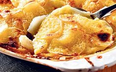 Parisienne potatoes recipe: So often when potatoes, onion and cream are cooked together you end up with the cream curdling. Because the potatoes and onions are boiled ahead you will not have that problem.