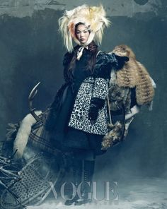 Vogue-Korea janvier 2012