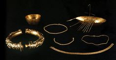 The remarkable Broighter hoard, arguably the finest treasure trove of the Irish Iron Age, was discovered on a February evening in 1896 by two Derry men, Thomas Nicholl and James Morrow. They had been ploughing a stubble field adjacent to the shoreline of Lough Foyle when they suddenly hit something hard.