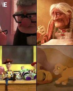 Sad Disney, Cute Disney, Disney Art, Disney Memes, Disney Quotes, Disney Cartoons, Disney Animated Movies, Animated Cartoons, Lion King Video