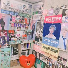 Find images and videos about bts, kim taehyung and jeon jungkook on We Heart It - the app to get lost in what you love. Army Bedroom, Army Room Decor, Room Goals, Kpop Merch, Aesthetic Room Decor, Room Ideas Bedroom, Room Tour, Decorate Your Room, Dream Rooms