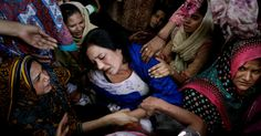 March 29, 2016 K. M. CHAUDARY/ASSOCIATED PRESS A Mother's Lament A mother whose son was among dozens killed in a weekend bombing in Lahore, Pakistan, received comfort on Monday. Page A7.