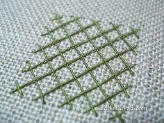 Gimp Silk Thread Embroidery