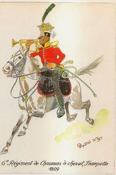 French; 6th Chasseurs a Cheval, Trumpeter 1809