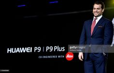 Henry Cavill attends the Huawei P9 global launch at Battersea Evolution on April 6, 2016 in London, England.